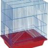 Клетка для шиншилл и хорьков (металлические полки), 60 х 40 х 80 см