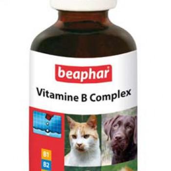 "Beaphar: витамины ""Vitamin- B -Komplex"" вит. группы B, 50мл д/животных"