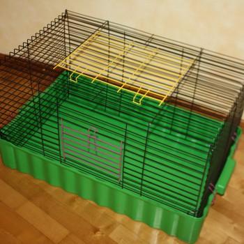 Клетка для кроликов и морских свинок СКЛАДНАЯ №4 79*47*42 см